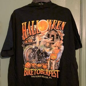 Daytona Beach Biketoberfest Shirt ,size XL